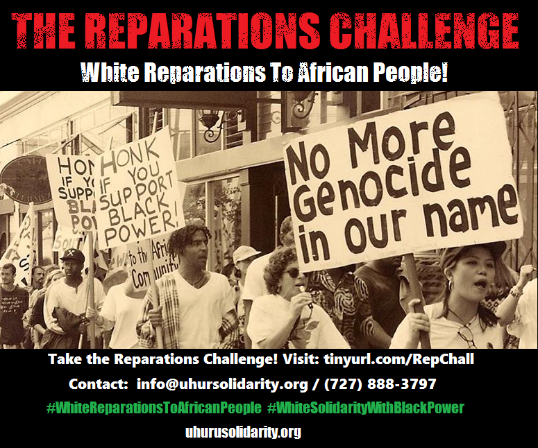 Take the Reparations Challenge!