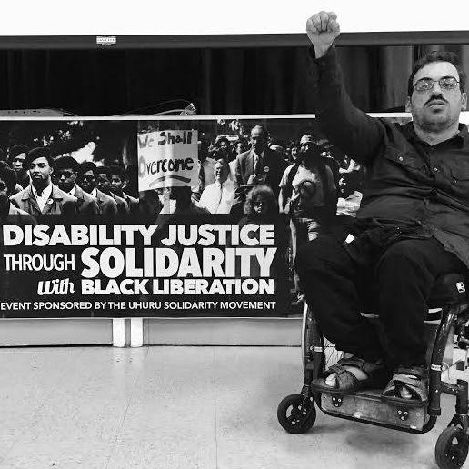 johann-at-disability-justice-event