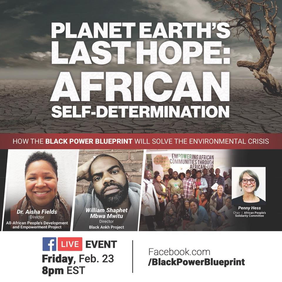 Planet earths last hope african self determination uhuru planet earths last hope african self determination how the black power blueprint will solve the environmental crisis malvernweather Images