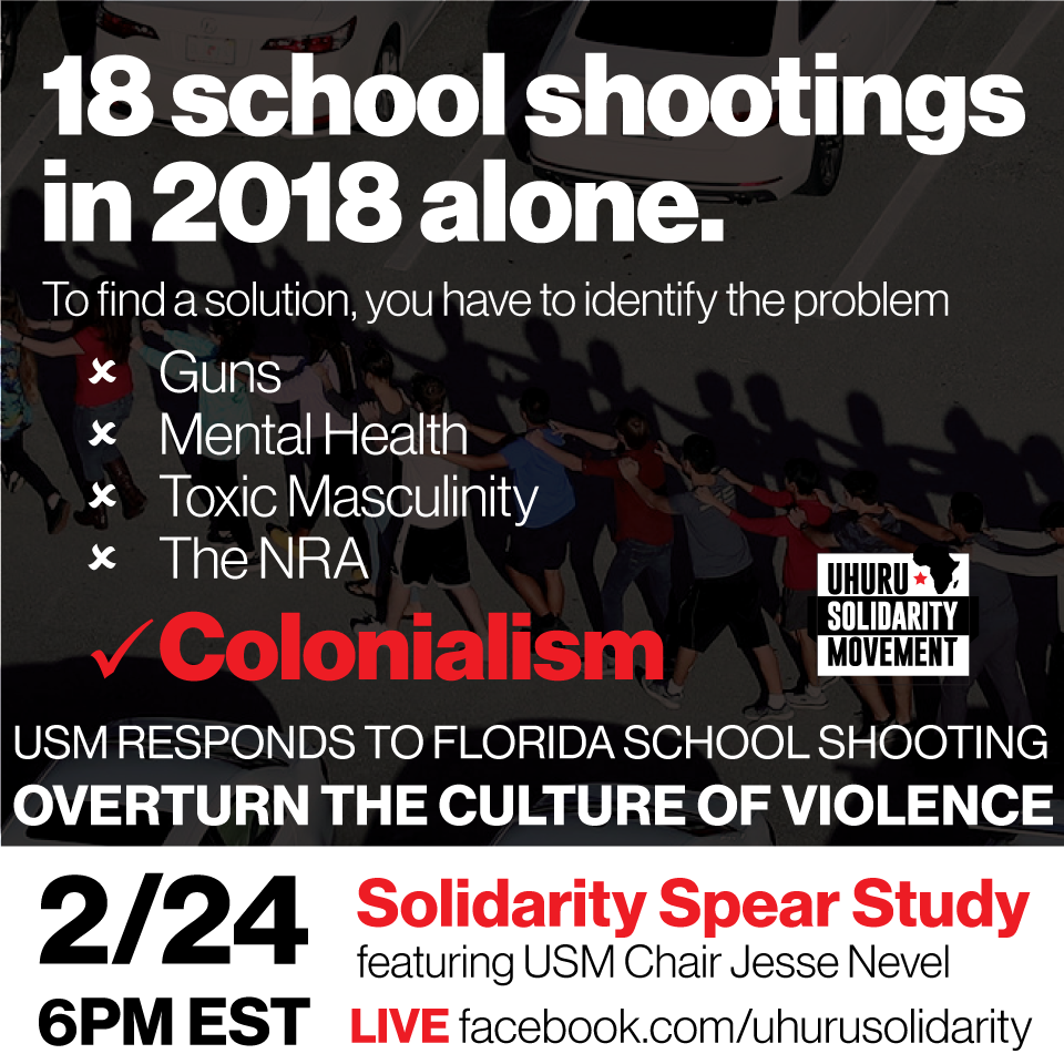 School Shooting United States 2019: USM Statement On School Shootings: It's Not Guns Or Mental